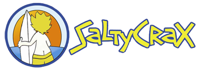 SaltyCrax Backpackers Logo