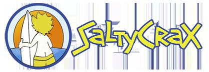 SaltyCrax Backpackers Logo